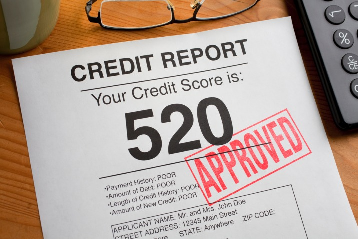 bad credit score or a subprime credit score